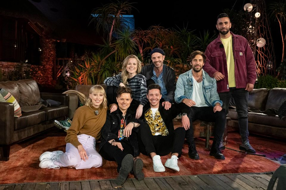 "Lea, Ilse DeLange, Michael Patrick Kelly, Jan Plewka, Nico Santos, Max Giesinger und MoTrip bei ""Sing meinen Song"" 2020"