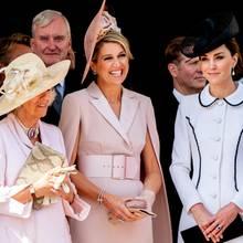 Königin Letizia, Herzogin Camilla, Königin Máxima + Herzogin Catherine
