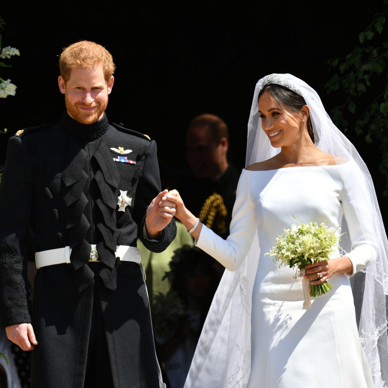 Royals: Herzogin Meghan + Prinz Harry - Neues Detail zur Hochzeit