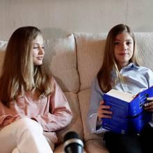Prinzessin Leonor und Prinzessin Sofia von Spanien