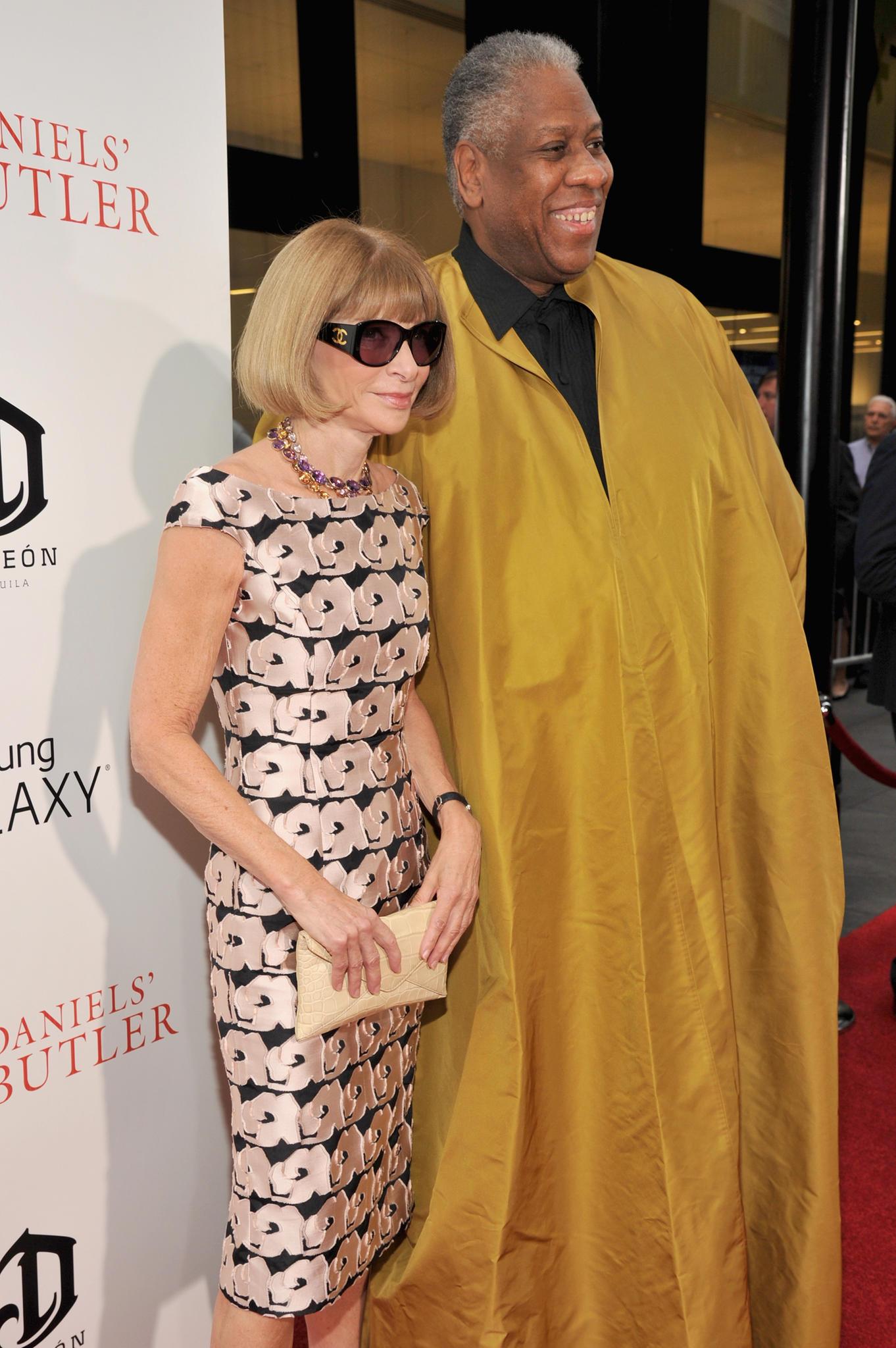 Anna Wintour und André Leon Talley