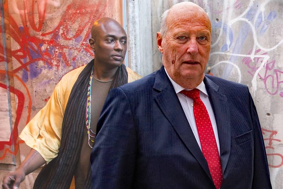 Durek Verrett und König Harald - zwei Männer, zwei Meinungen.