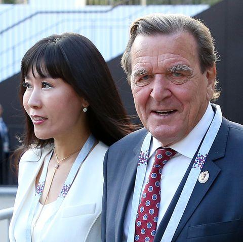 Gerhard Schröder und Soyeon Schröder-Kim