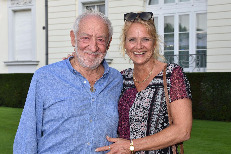 Dieter Hallervorden und Lebensgefährtin Christiane Zander