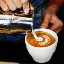 Cappuccinomit Haferdrink