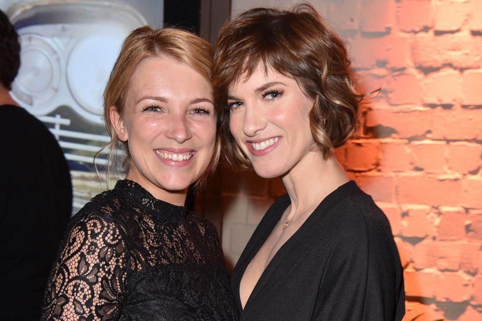 GZSZ-Stars: Iris Mareike Steen und Isabell Horn