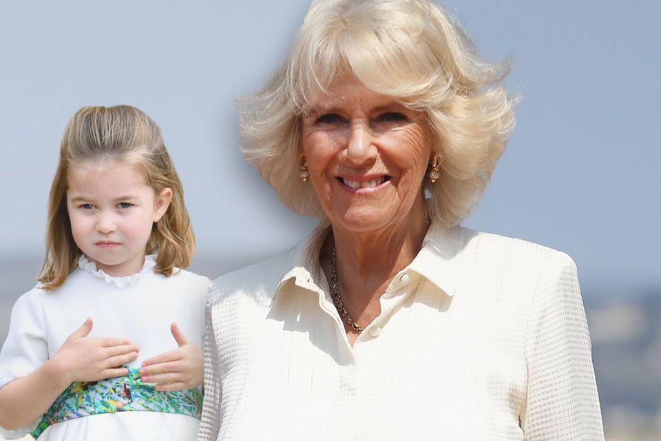 Prinzessin Charlotte und Stief-Oma Herzogin Camilla