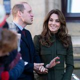 """15. Januar 2020  Prinz William und Herzogin Catherine lassen sich von dem Tumult um Meghan und Harry nichtsanmerken, als sie die britische Stadt Bradford besuchen: Sie lachen, plaudern, hören zu, engagieren sich.""""The Show must go on"""" - ein Motto, mit dessen Hilfesich die britische Königsfamilie bisher nach jeder Krise wieder aufgerappelt hat."""