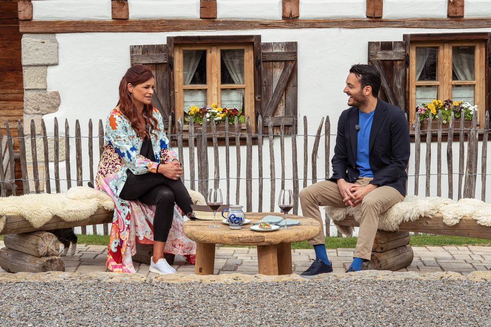 """Andrea Berg - Das Leben ist ein Mosaik"": Andrea Berg und Giovanni Zarrella"