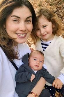 """Ira Meindl kämpfte 2009 mit Sara Nuru und Sarina Nowak um den Titel """"Germany's next Topmodel"""". Heute kämpft sie sich fröhlich durch das Familienleben mit Emilia undElija."""