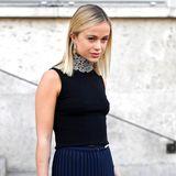 Amelia Windsor trägt 2020 hellblonden Longbob