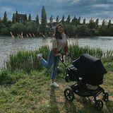 Jetzt zeigt sie ihreFavoritinauf Instagram: ihre TochterVioletta Lisboa.