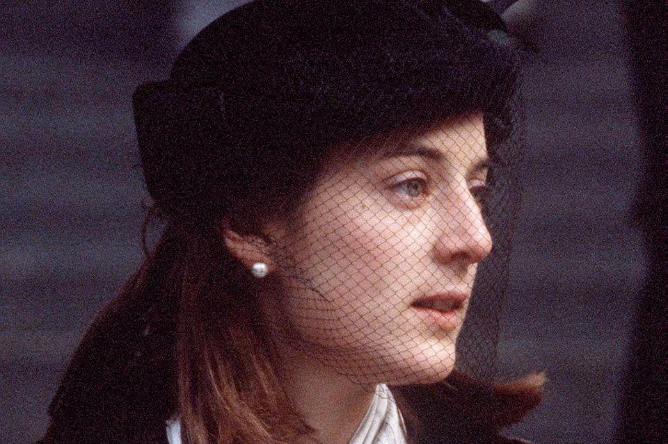 Amanda Knatchbull, hier fotografiert im Dezember 1979, hätte die Ehefrau von Prinz Charles werden können.