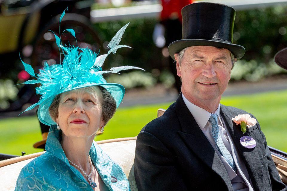 Prinzessin Anne und Timothy Laurence Liebe begann im Verborgenen, seit 1992 ist sie offiziell.
