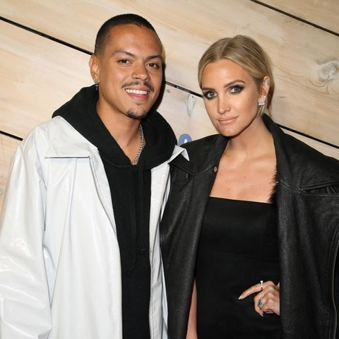 Evan Ross und Ashlee Simpson