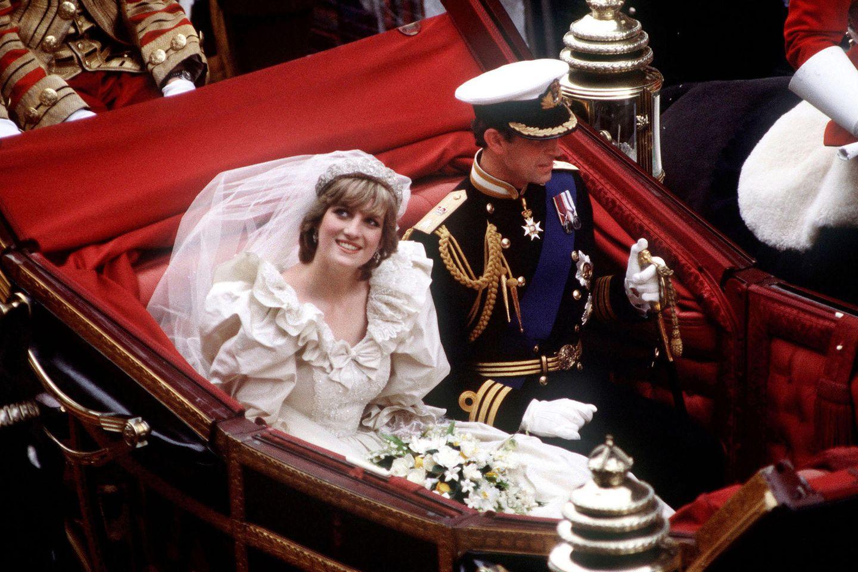 Prinzessin Diana (†) und Prinz Charles