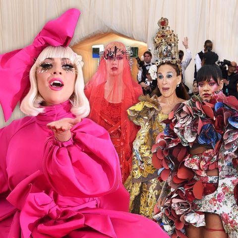 Die Met Gala im Rückblick: Die skurrilsten Looks des Fashion-Events