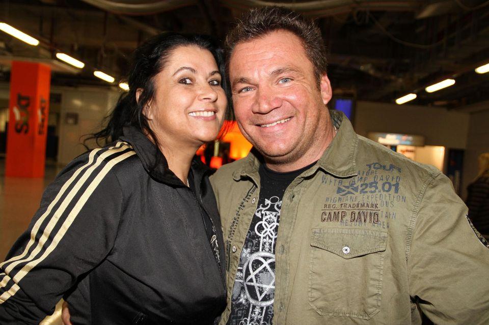 Iris Klein mit ihrem Mann Peter Klein