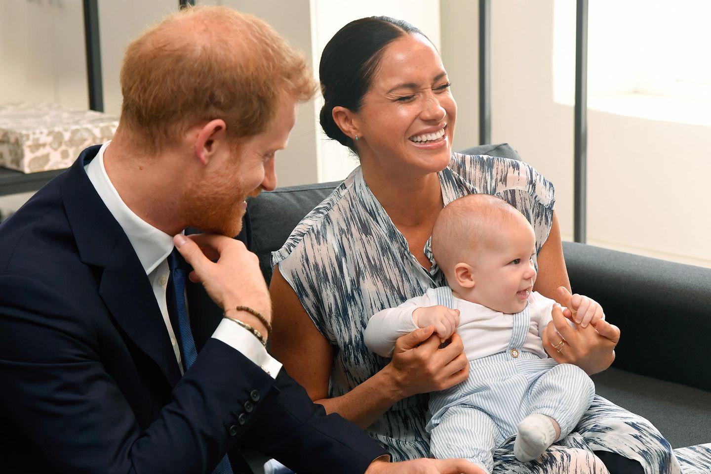 Prinz Harry, Herzogin Meghan, Archie Mountbatten-Windsor