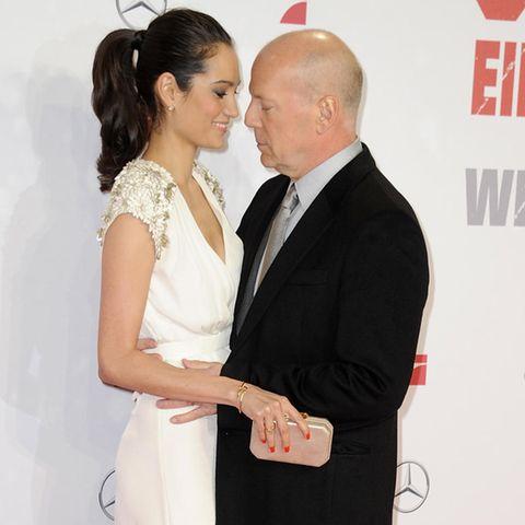 Emma + Bruce Willis