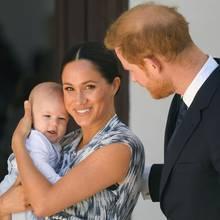 Baby Archie, Herzogin Meghan und Prinz Harry