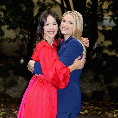 Michelle Hunziker und Tochter Aurora