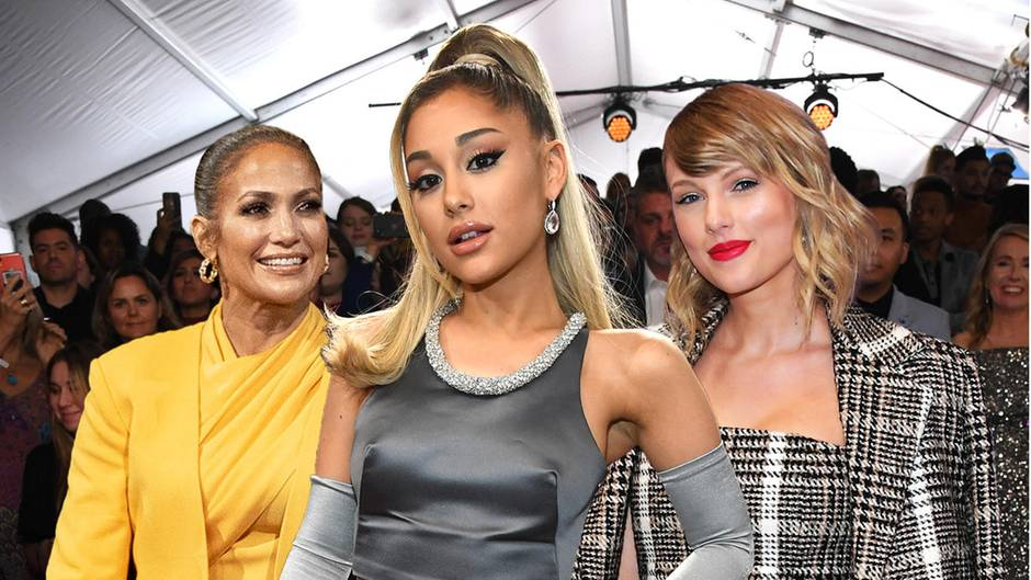 Jennifer Lopez, Ariana Grande und Taylor Swift haben Doppelgänger