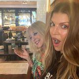Fergie bedankt sich auf Instagram für die beste Mutter, die sich hätte wünschen können: Terri Jackson.Und sie hofft, endlich mal wieder mit ihr essen gehen zu können.