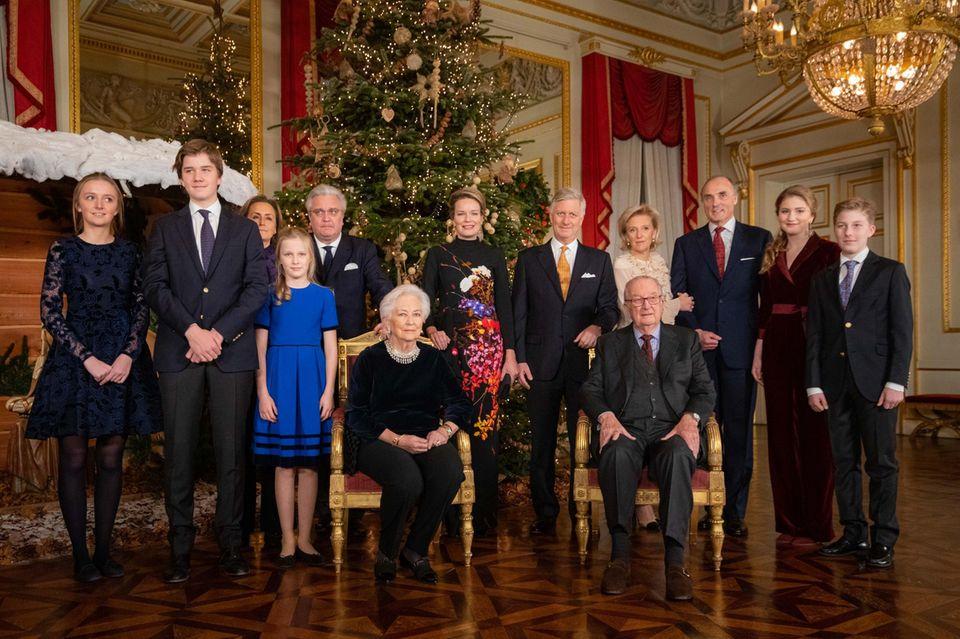 Die belgischen Royals