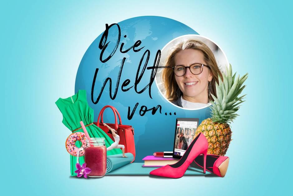 Die Welt von Mareike, Kleid, Ananas, Smoothie, Tasche, Schuh