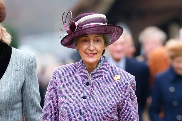 Seit 60 Jahren steht Lady Susan Hussey derQueen zur Seite.