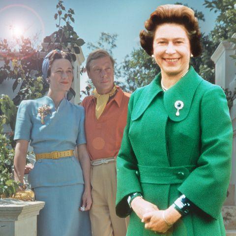 Die Liebe von Wallis Simpson und König Edward führte zur Thronbesteigung von Queen Elizabeth.