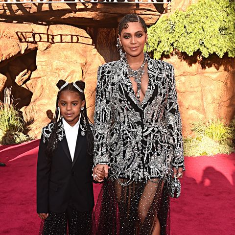 Ivy Blue Carter und Beyoncé Knowles