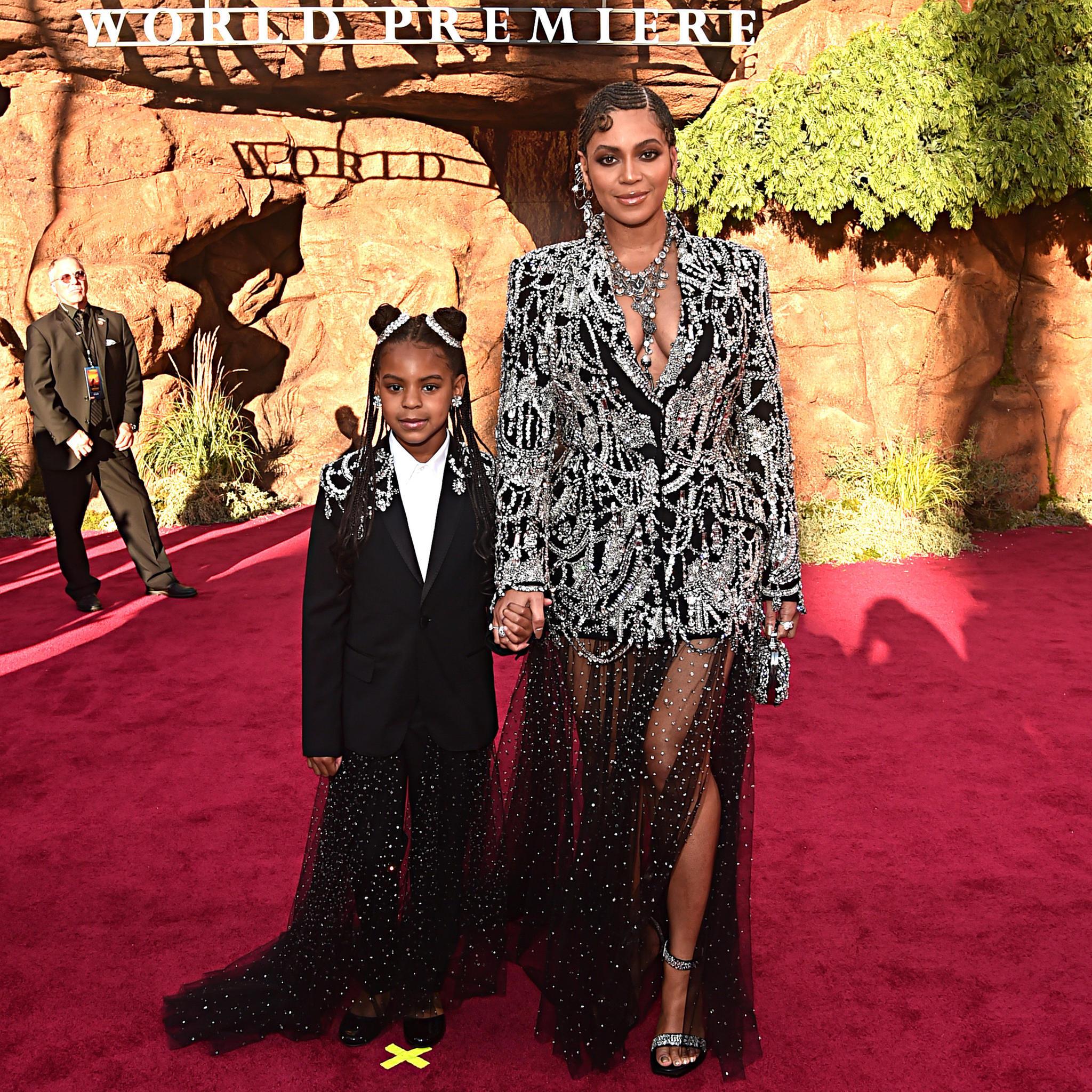 Ivy Blue Carter und Beyoncé Knowles