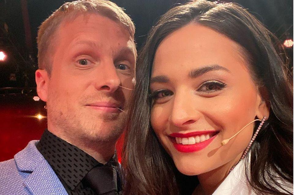 Oliver und Amira Pocher