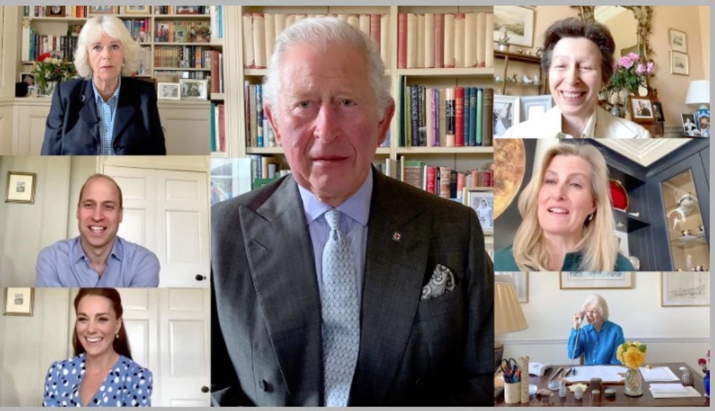12. Mai 2020  Am 12. Mai wird alljährlich der Internationale Tag der Krankenschwestern und -pfleger begangen, um ihre Beiträge zur Gesellschaft zu würdigen, in Coronazeiten wichtiger denn je. Aus diesem Anlass haben sich Prinz Charles, Herzogin Camilla, Prinz William, Herzogin Catherine, Prinzessin Anne, Gräfin Sophie und Prinzessin Alexandra (eine Großcousine der Queen) zusammengetan. In einemfünfminütigen Video-Call danken sie dem medizinischem Personal aus acht verschiedenen Ländern.