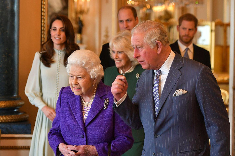 Die britische Königsfamilie.