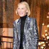 """20 Jahre später, im Februar 2020 zurUK Premiere von""""True History Of The Kelly Gang"""", sieht man ihr optischdie beiden Jahrzehnte nicht an. An Cate Blanchett scheinen die Zeichen der Zeit spurlos vorüber zu gehen."""