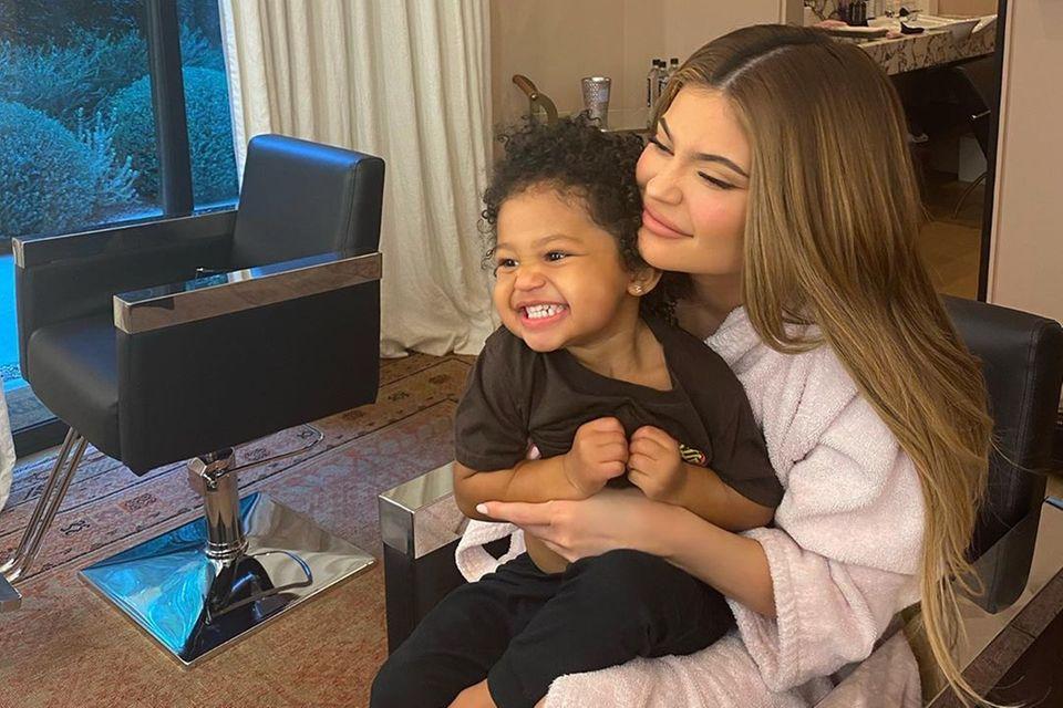 Kylie Jenner mit Tochter Stormi