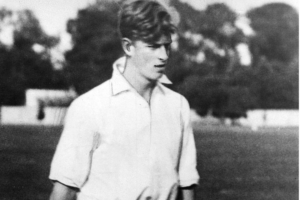 Ein Bild von einem Mann: Prinz Philip im Jahr 1937 bei einem Polospiel.