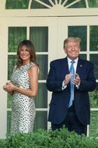 Melania Trump + Donald Trump