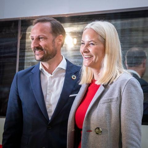Prinz Haakonund Prinzessin Mette-Marit