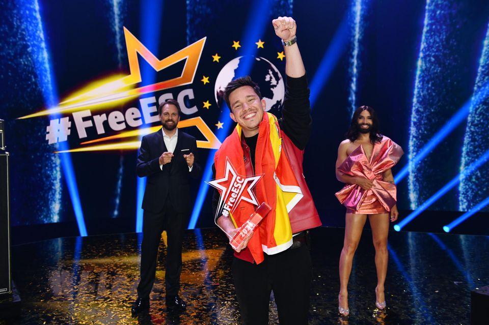 Nico Santos gewinnt den FreeESC