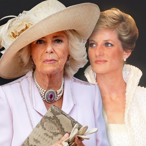 Herzogin Camilla, Prinzessin Diana (†)