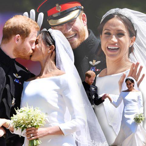 Prinz Harry undHerzogin Meghan: GALA zeigt die schönsten Fotos ihrer Hochzeit auf Schloss Windsor.