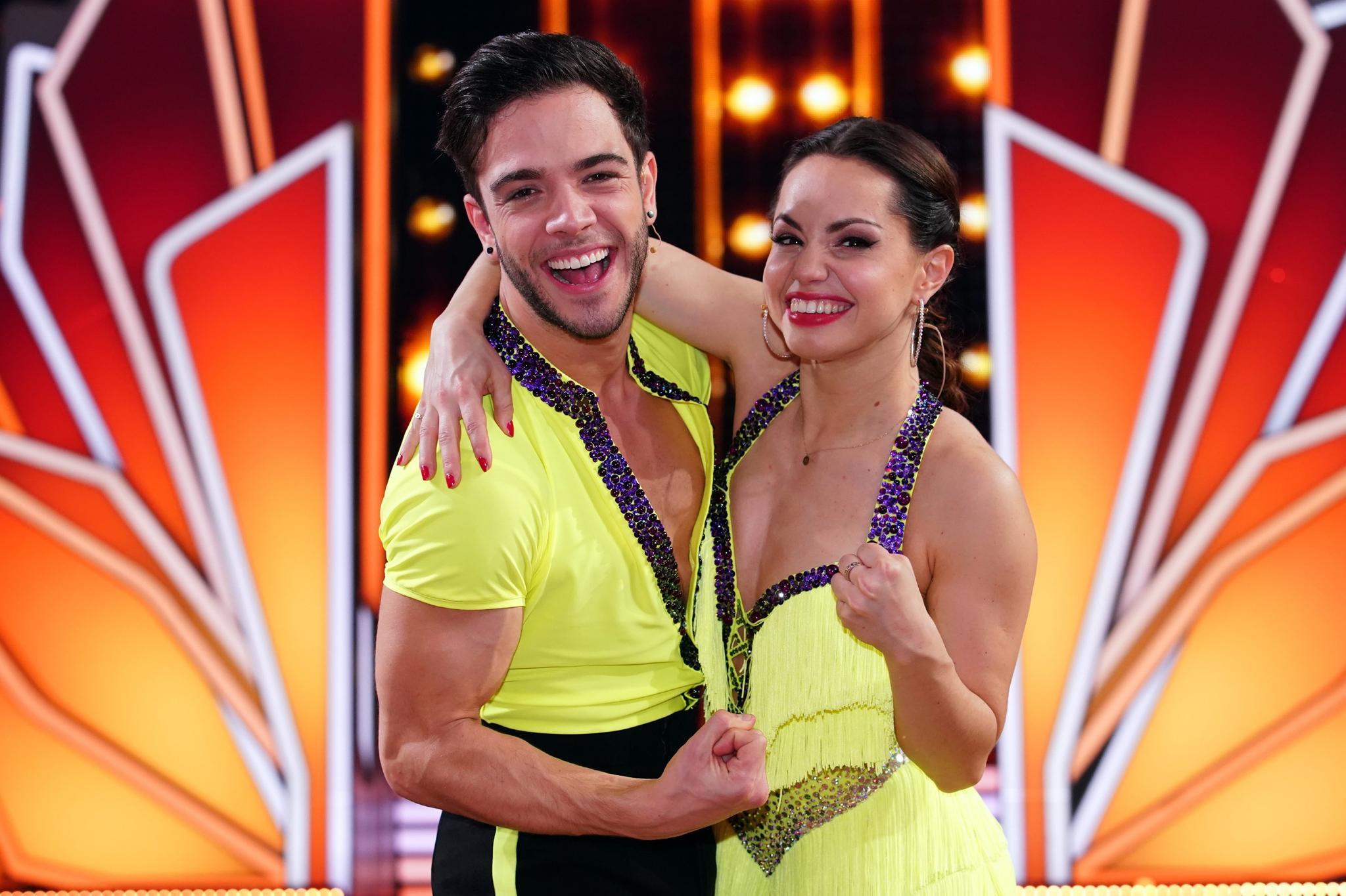 """Luca Hänni und Christina Luft stehen im """"Let's Dance""""-Finale"""