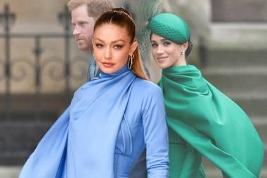 Gigi Hadid + Herzogin Meghan