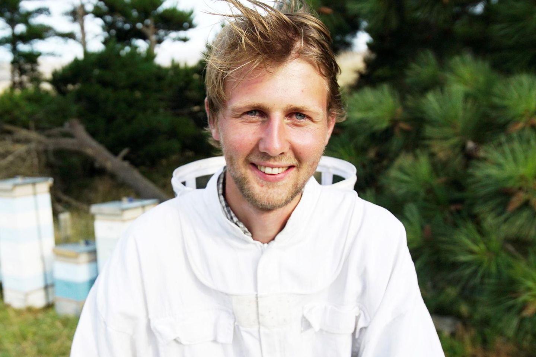Imker Daniel aus Neuseeland