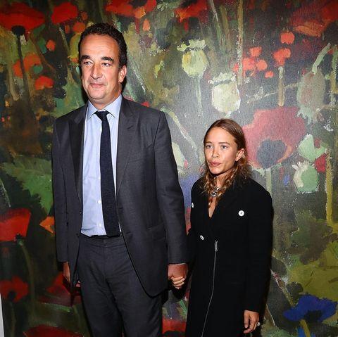 Olivier Sarkozy undMary-Kate Olsen