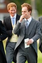 """Prinz Harry und Tom """"Skippy"""" Inskip"""